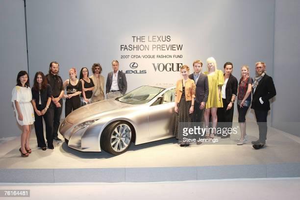 Designers Koi Suwannagate, Lisa Mayock, Rogan Gregory, Adi, Angi, Gabi, Michael Bastian, Sophie Buhai, Scott Sternberg, Erin Fetherston, Phillip Lim,...