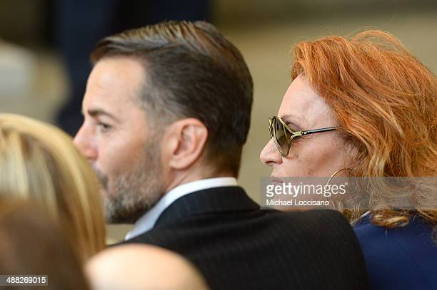 Designers Marc Jacobs and Diane von Furstenberg attend the Anna Wintour Costume Center Grand Opening at the Metropolitan Museum of Art on May 5 2014...