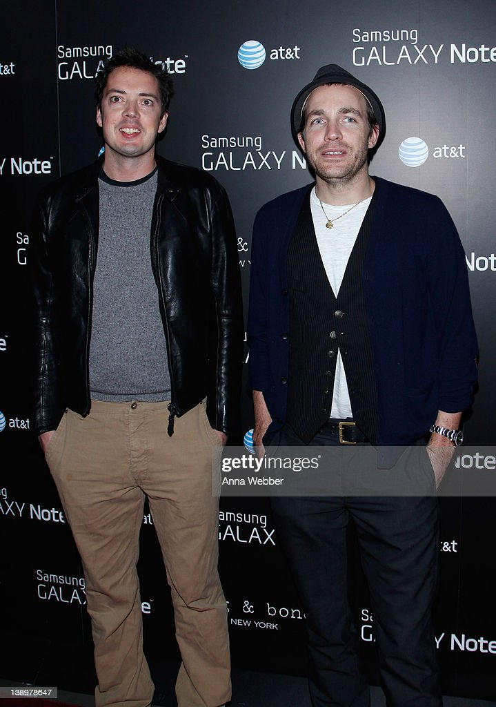 Designers Marcus Wainright And David Neville Arrive To Samsung And News Photo Getty Images
