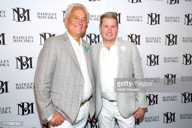 Designers Mark Badgley and James Mischka attend Badgley fashion show during New York Fashion Week: The Shows at Gallery I at Spring Studios on...