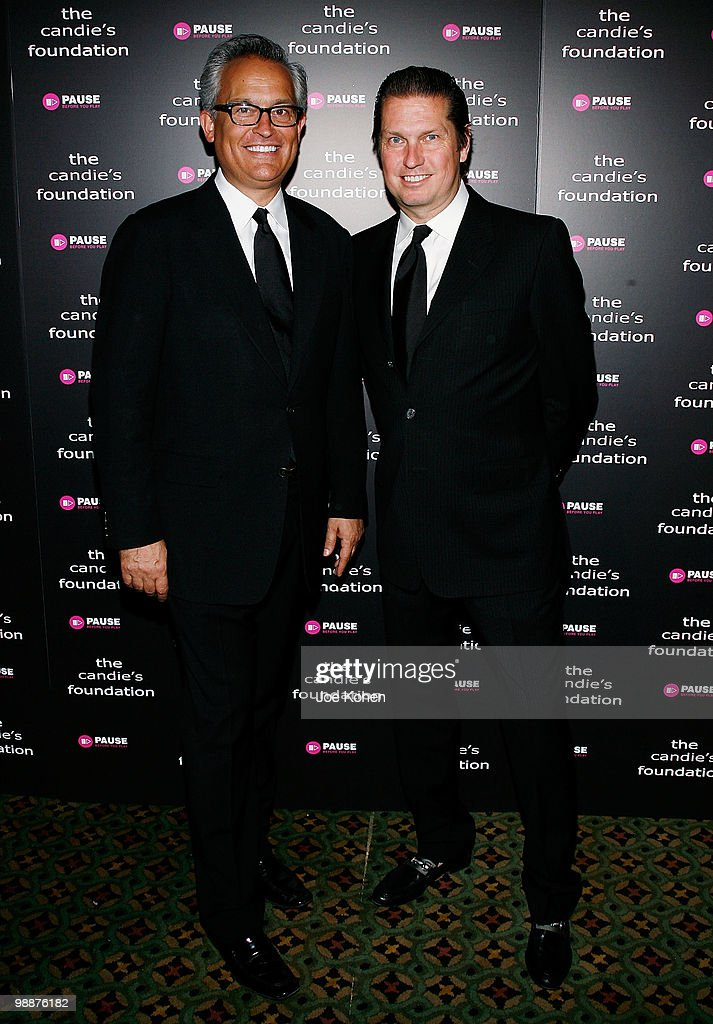 Designers Mark Badgley (L) and James Mischka attend The Candie's Foundation Event To Prevent at Cipriani 42nd Street on May 5, 2010 in New York City.