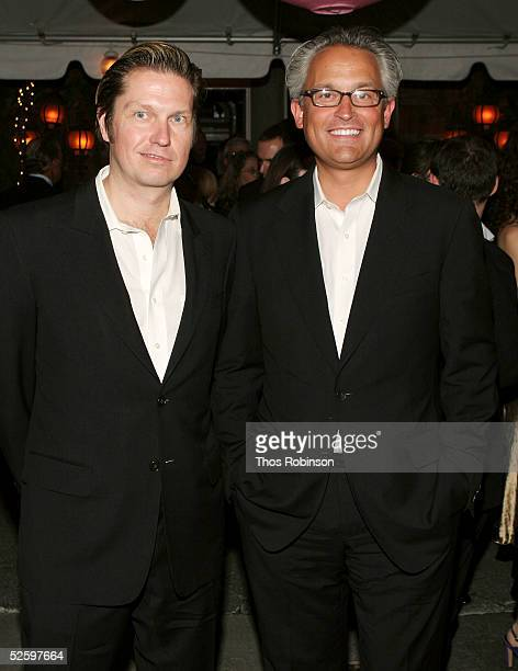 Designers Mark Badgley and James Mishka of Badgley Mischka attend the Martha Graham Dance Company Opening Night Gala at Tavern On The Green on April...