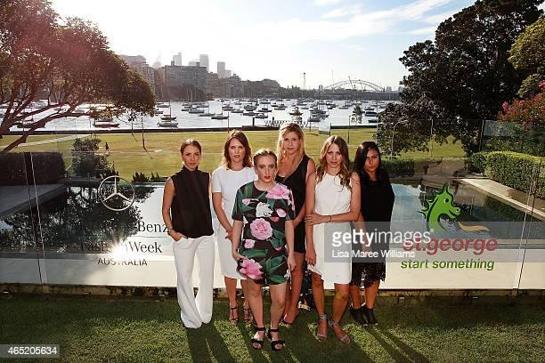 Designers Michelle Azanvorian Samantha Jones Stacey Hendrickson Annie CannonBrookes Vanessa Moe and Mariam Seddiq are named as the 'New Generation...
