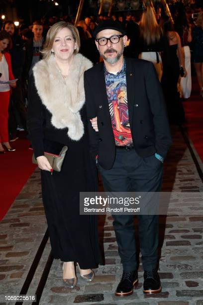 Designers Miraphora Mina and Eduardo Lima attend the Fantastic Beasts The Crimes of Grindelwald World Premiere at UGC Cine Cite Bercy on November 8...