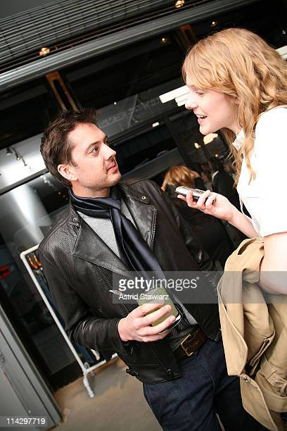 Designers of Rag & Bone Marcus Wainwright celebrates Sloane Crosley's I Was Told There'd Be Cake at Helmut Lang on April 22, 2008 in New York City.
