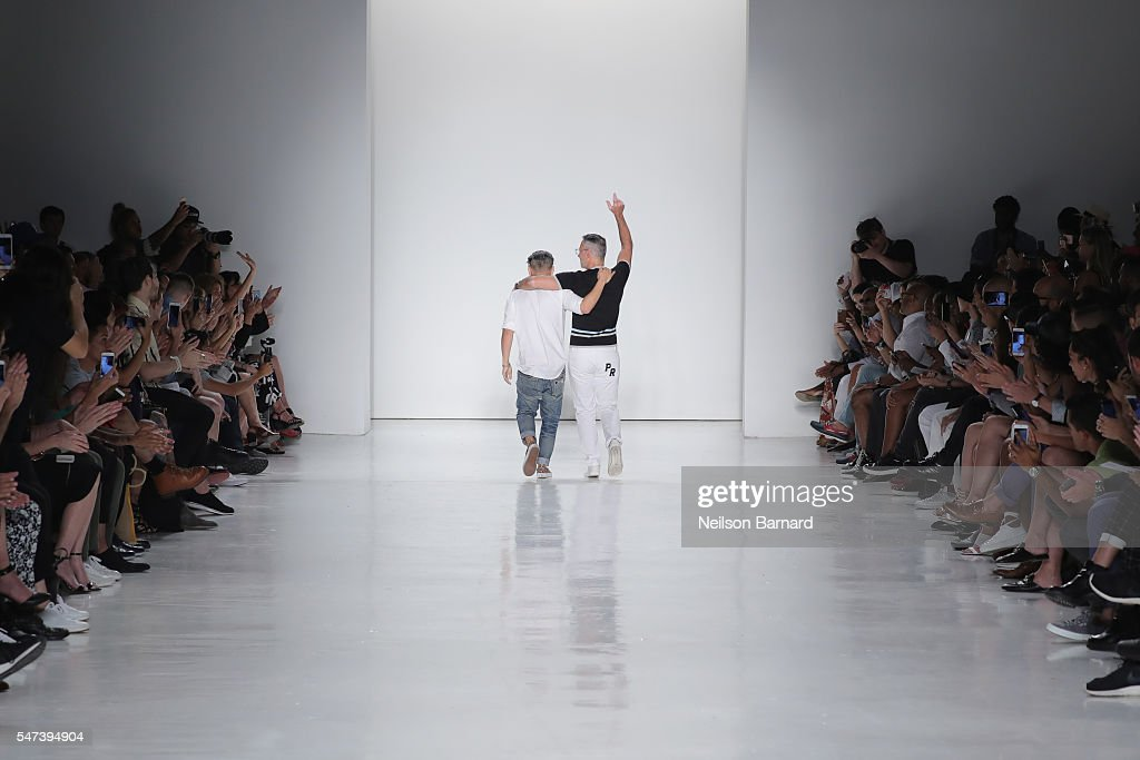 NY: Parke & Ronen Spring 2017 - New York Fashion Week Men's - Runway