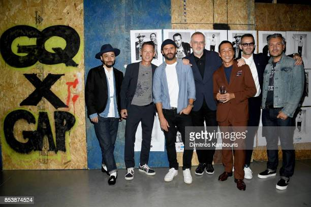 Designers Poggy GQ EditorinChief Jim Nelson Alexandre Mattiusi GQ Creative Director Jim Moore Yasuto Kamoshita Jey Perie and Gap VP of Men's Design...
