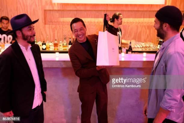 Designers Poggy Yasuto Kamoshita and Alexandre Mattiusi attend GQ x GAP Coolest Designers on the Planet 2017 at St Ann's Warehouse on September 25...
