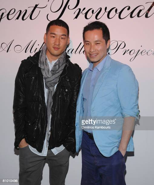 """Designers Richard Chai and Phillip Lim attend the Agent Provocateur's"""" White Wedding"""" at the Milk Studios Penthouse on May 6, 2008 in New York City."""