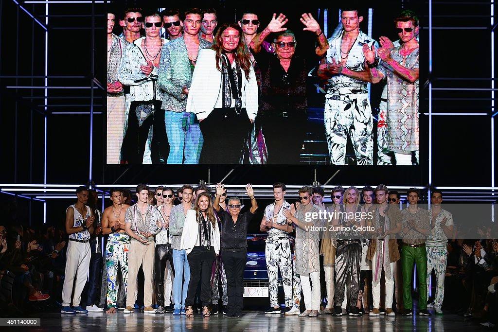 Roberto Cavalli - Runway - Milan Fashion Week Menswear Spring/Summer 2015