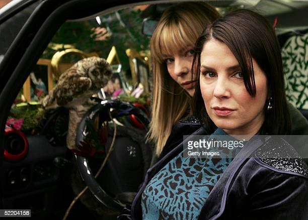 Designers Sadie Frost and Jemima French unveil the interior for the new Peugeot 1007 designed by them and preview items from their latest collection...