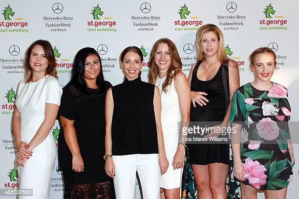 Designers Samantha Jones Mariam Seddiq Michelle Azanvorian Vanessa Moe Annie CannonBrookes and Stacey Hendrickson are named as the 'New Generation...
