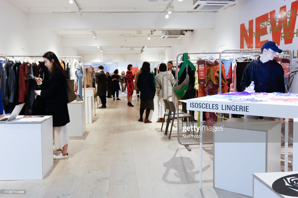 Designers Showrooms In Bfc Space During The London Fashion Week News Photo Getty Images