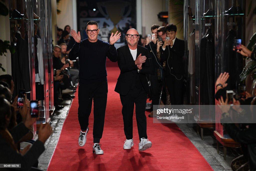 Dolce & Gabbana Unexpected Show - Runway - Milan Men's Fashion Week Fall/Winter 2018/19 : ニュース写真