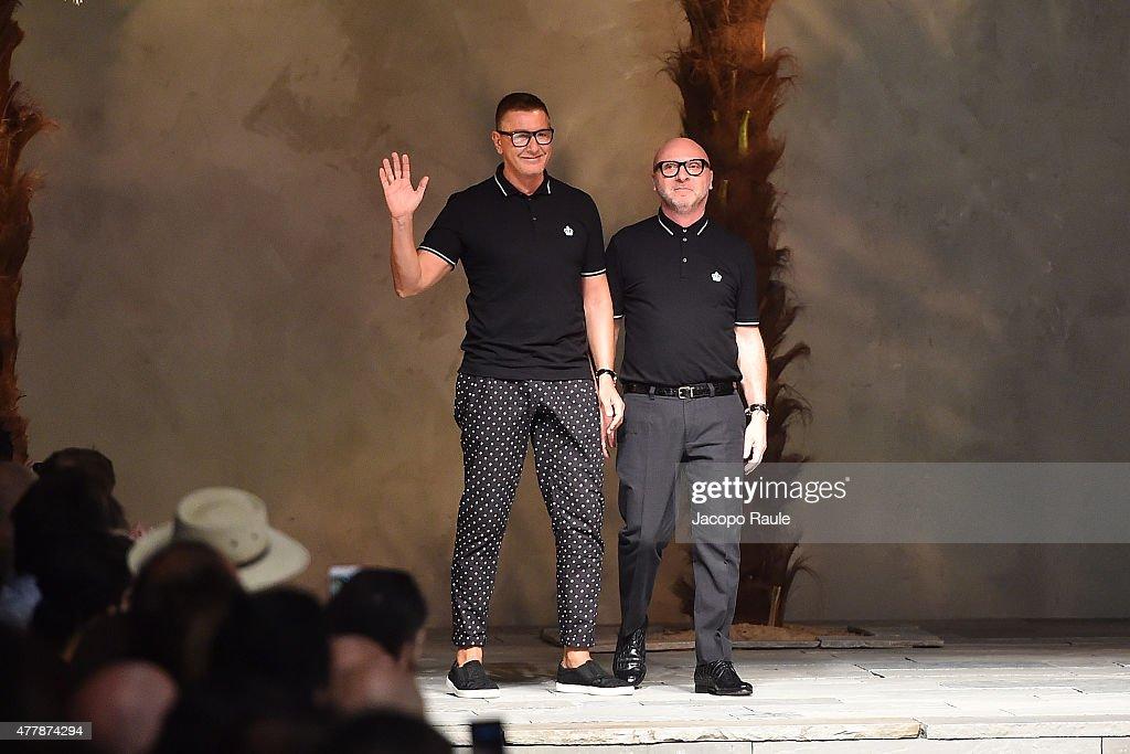 Dolce & Gabbana - Runway - Milan Collections Men SS16