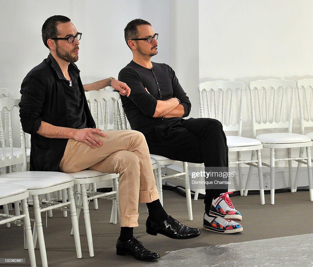 Viktor & Rolf Monsieur: Paris Fashion Week Menswear S/S 2011
