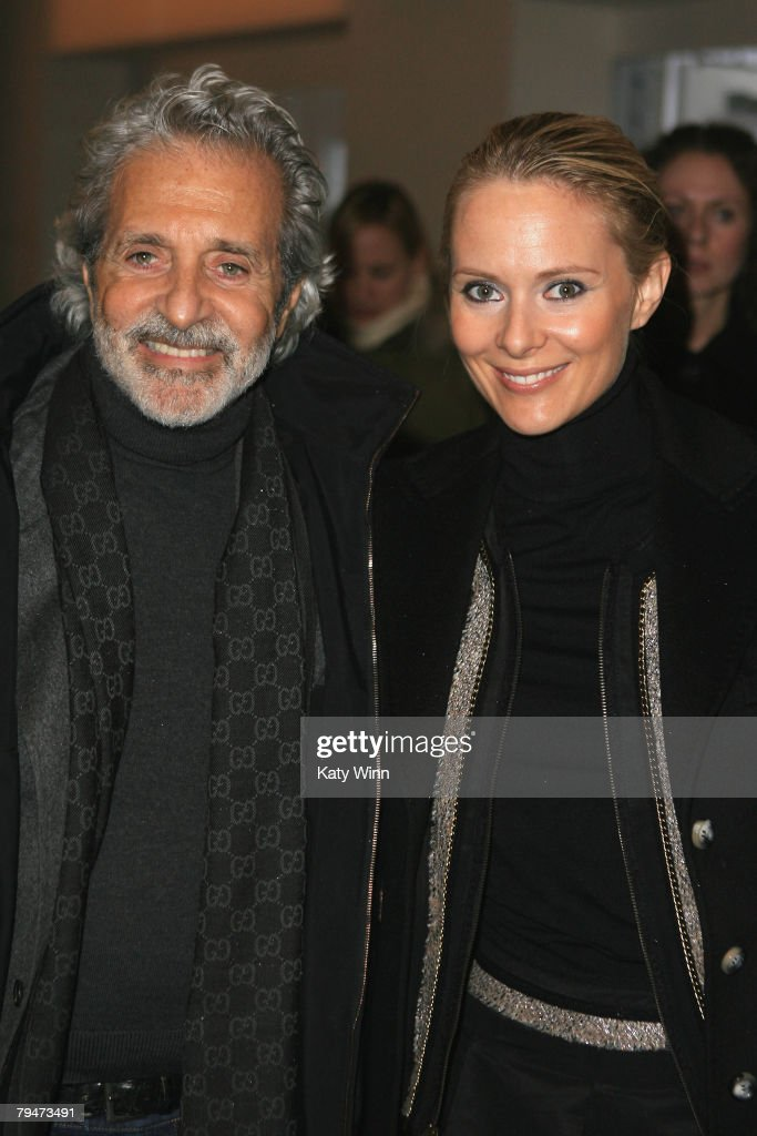 Designers Vincent Camuto and Louise Camuto at the fashion tents in Bryant Park during Mercedes-Benz Fashion Week Fall 2008 on February 1, 2008 in New York City.