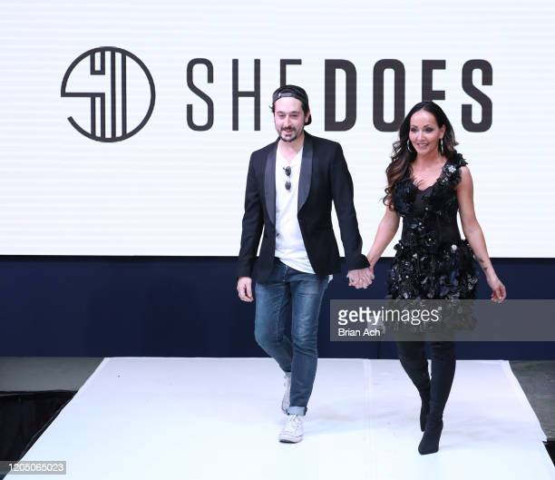 Designers walk the runway for She Does Official during NYFW Powered By hiTechMODA on February 08, 2020 in New York City.