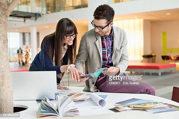 Designers working in an office