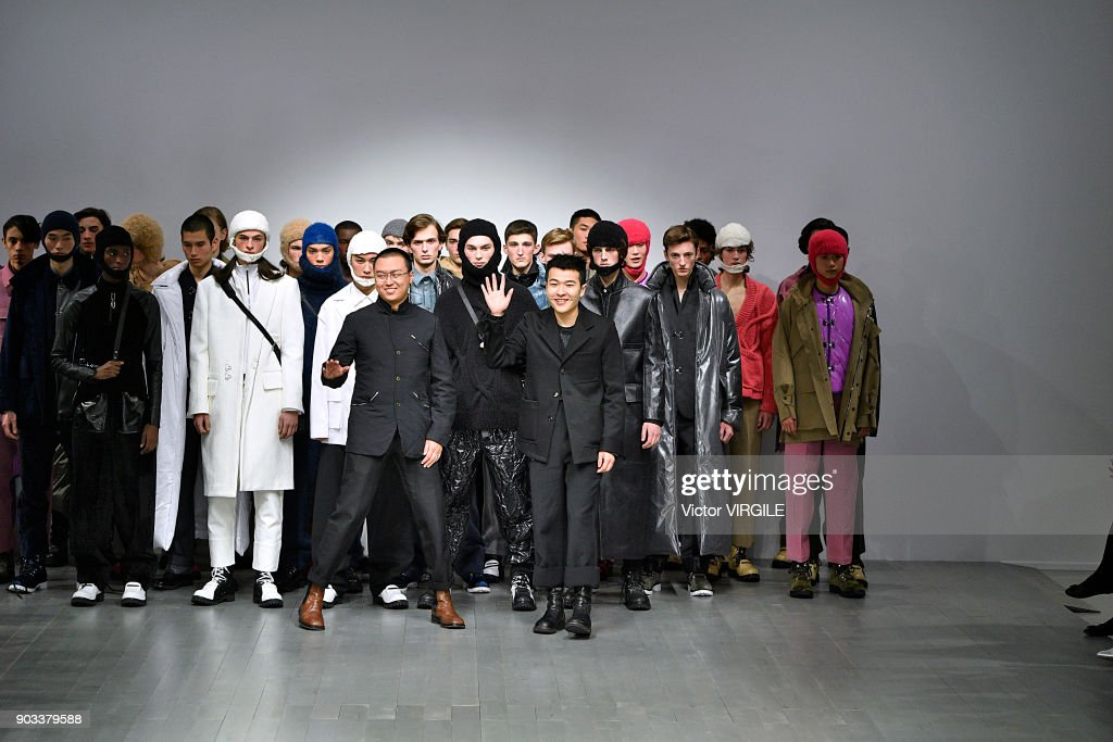 PRONOUNCE Presented By GQ CHINA - Runway - LFWM January 2018 : ニュース写真
