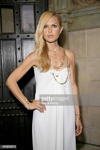 Designer/stylist Rachel Zoe attends Jennifer Meyer for the Zoe Report Dinner at Chateau Marmont on June 18 2014 in Los Angeles California