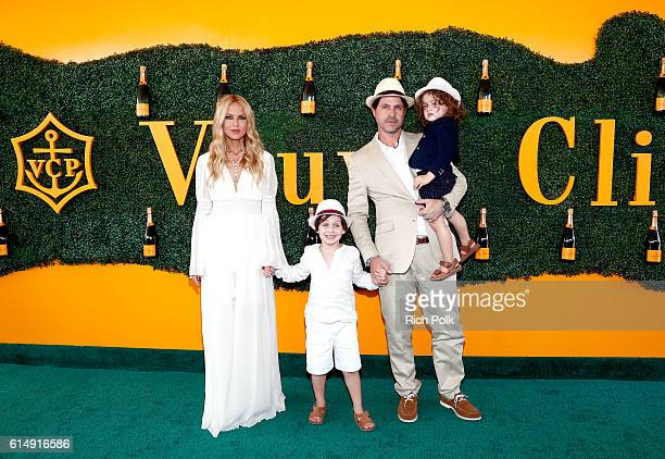 Designer/tv personality Rachel Zoe Skyler Morrison Berman Rodger Berman and Kaius Jagger Berman attend the Seventh Annual Veuve Clicquot Polo Classic...