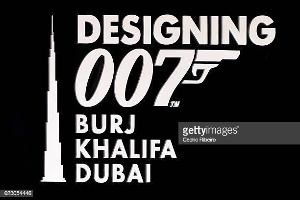 Designing 007 Fifty Years of Bond Style takes place at Burj Khalifa on November 13 2016 in Dubai United Arab Emirates