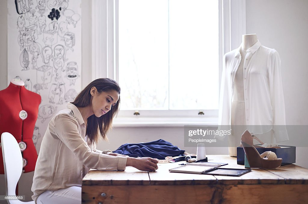 Different Types Of Lines In Fashion Designing : Fashion designer stock photos and pictures getty images