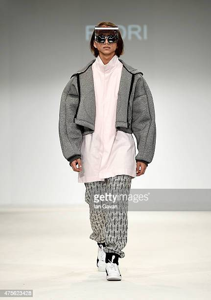 Designs by Fedri at the Samsonite International Catwalk Competition during day 4 of Graduate Fashion Week sponsored by George at Asda at The Old...