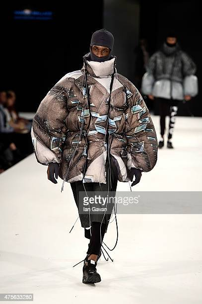 Designs by Hannah Wallace from Manchester School of Art during the Best of Graduate Fashion Week show on day 4 of Graduate Fashion Week sponsored by...