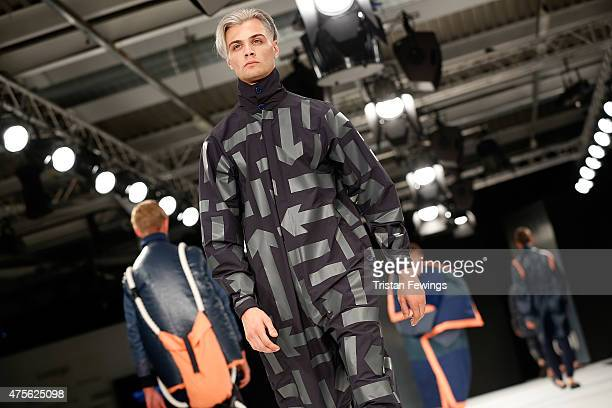 Designs by Megan Kimmance from the University of Central Lancashire during the Best of Graduate Fashion Week show on day 4 of Graduate Fashion Week...
