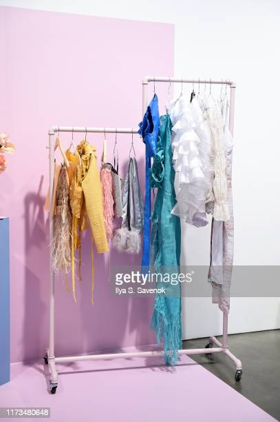 Designs by Slashed By Tia as Teen Vogue Celebrates Generation Next Presented By Snapchat at Studio 525 on September 09 2019 in New York City