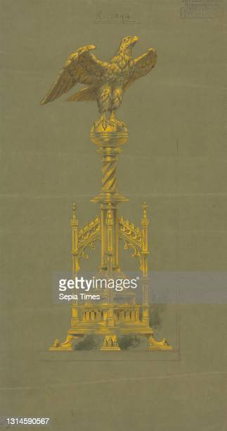 Designs executed for Jones and Willis, metal and wood-workers and church furniture manufacturers of Birmingham and London, George Edmund Street,...