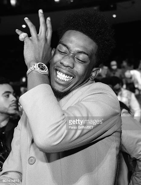 Desiigner attends the 2016 BET Hip Hop Awards at Cobb Energy Performing Arts Center on September 17 2016 in Atlanta Georgia