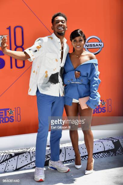Desiigner attends the 2018 BET Awards at Microsoft Theater on June 24 2018 in Los Angeles California