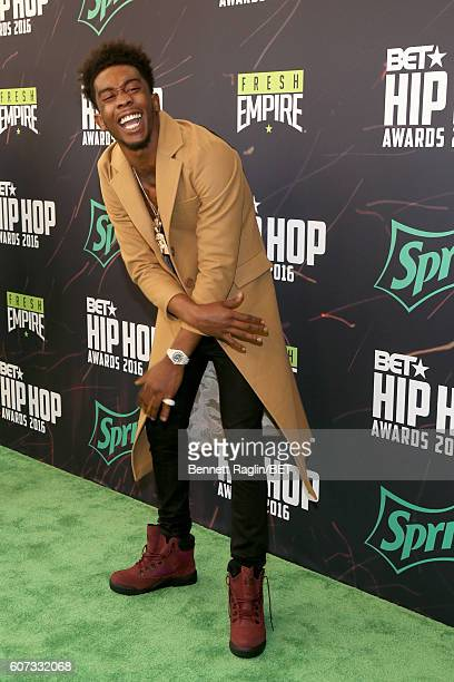 Desiigner attends the BET Hip Hop Awards 2016 Green Carpet at Cobb Energy Performing Arts Center on September 17 2016 in Atlanta Georgia
