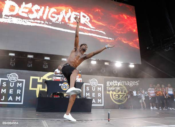 Desiigner performs at the 2017 Hot 97 Summer Jam at MetLife Stadium on June 11 2017 in East Rutherford New Jersey