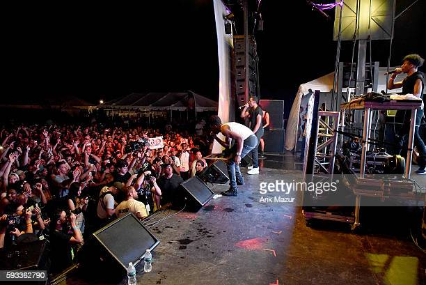 Desiigner performs onstage during the 2016 Billboard Hot 100 Festival at Nikon at Jones Beach Theater on August 21 2016 in Wantagh New York