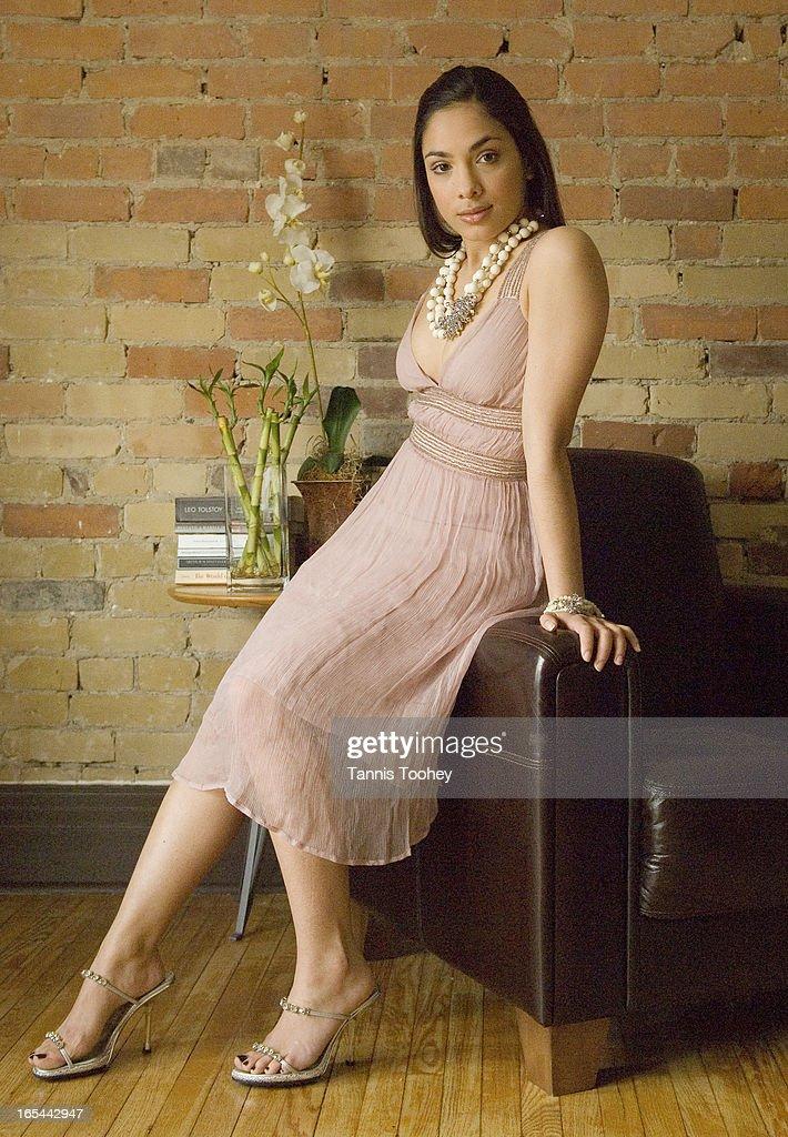 Desi-Lara Amersey-March 13, 2007-Style story on actress Lara Amersey