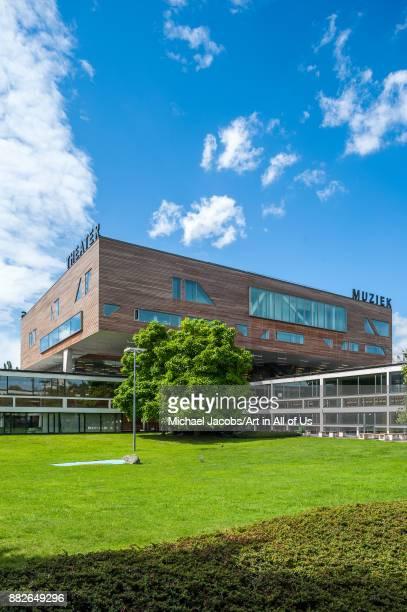 deSingel international arts center designed by Renaat Braem home to the Conservatorium van Antwerpen Posthogeschool voor Podiumkunsten APT Vlaams...