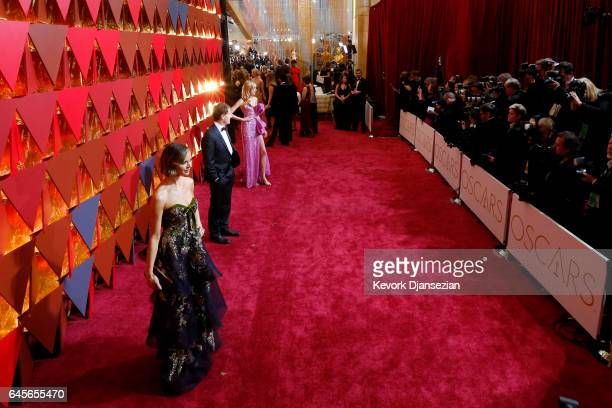 Desinger Georgina Chapman attends the 89th Annual Academy Awards at Hollywood Highland Center on February 26 2017 in Hollywood California