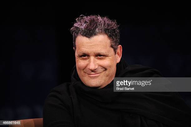 Desinger Isaac Mizrahi attends In Conversation With Fern Mallis And Isaac Mizrah at 92nd Street Y on February 4 2014 in New York City