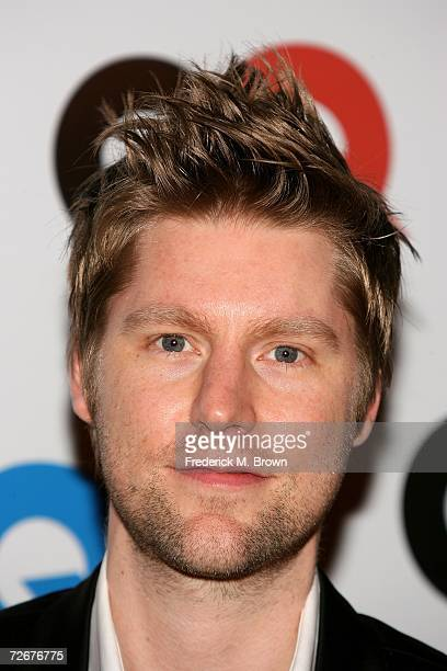Desinger of Burberry Christopher Bailey arrives at the GQ magazine 2006 Men of the Year dinner celebrating the 11th Annual Men of the Year issue at...