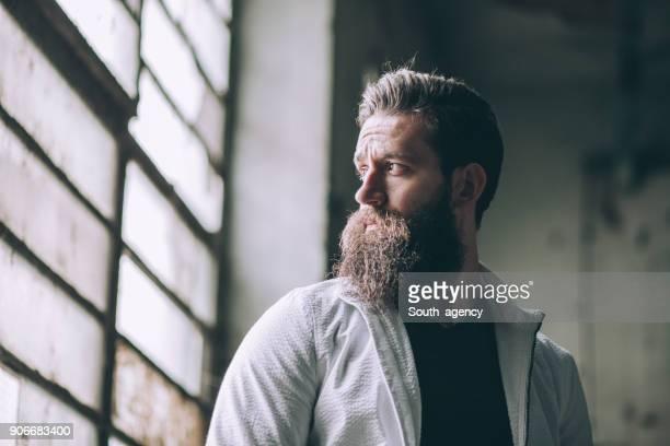 Wünschenswert Mann mit Bart