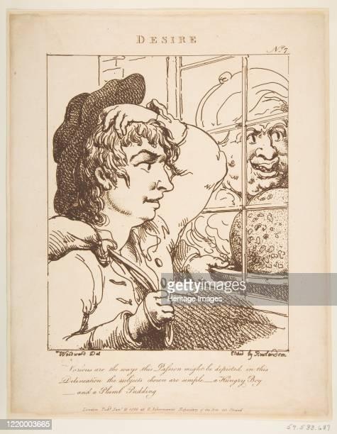 Desire , January 20, 1800. Artist Thomas Rowlandson.