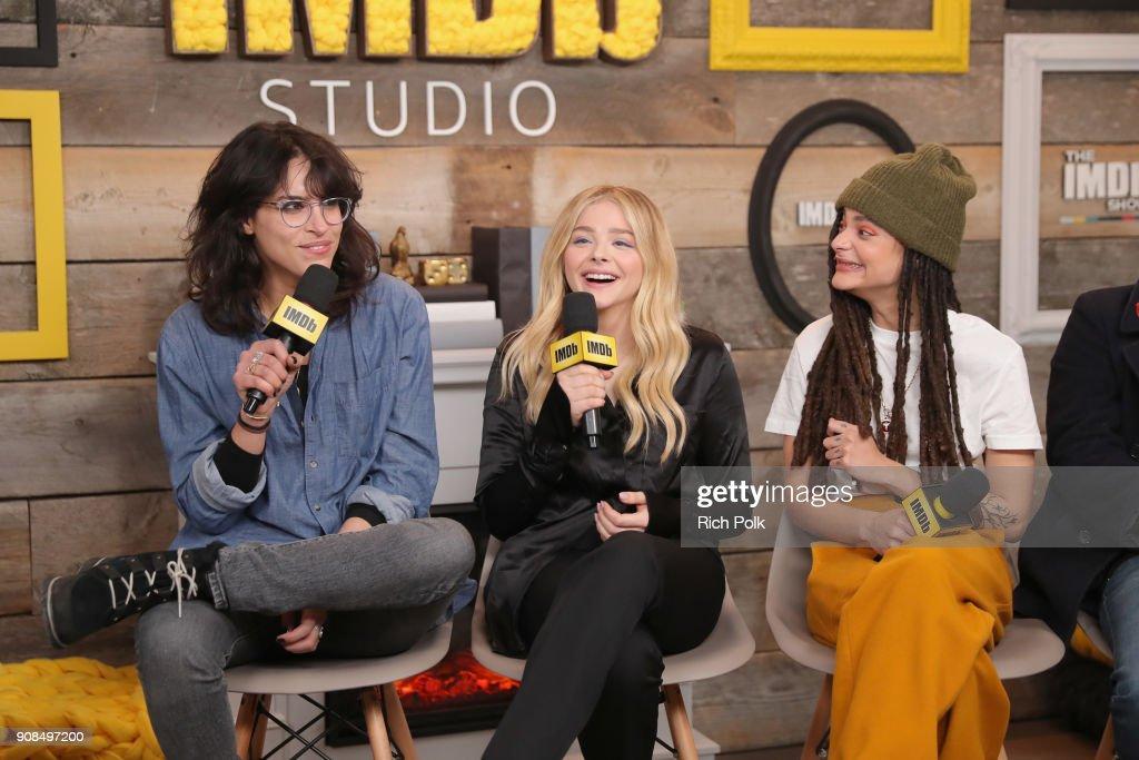 Desiree Akhavan, Chloe Grace Moretz, and Sasha Lane of 'The    News