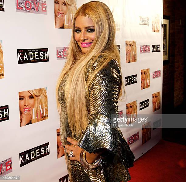 Desiree Coleman Jackson attends the Private Listening Party For Kadesh aka Desiree Coleman Jackson Hosted By ESPN Sports Analyst Mark Jackson at HOME...