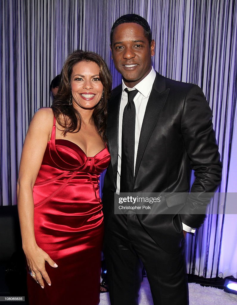 Desiree DaCosta (L) and actor Blair Underwood attend NBC Universal/Focus Features Golden Globes Viewing and After Party sponsored by Chrysler held at The Beverly Hilton hotel on January 16, 2011 in Beverly Hills, California.