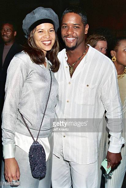 Desiree DaCosta and Blair Underwood during HBO's Screening of The Tuskegee Airmen at DGA in Los Angeles CA United States