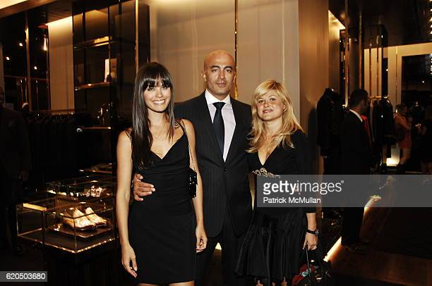 Desiree Dymond Alex Tahsili and Tatiana Byron attend Nick Sullivan of ESQUIRE Hosts Preview of The GUCCI 'made to order program for men' at Gucci...